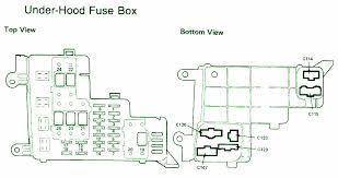 2003 Honda Accord Fuse Box Layout 93 Honda Accord Fuse Box Diagram