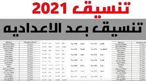 تنسيق الثانوية العامة 2021.. تعرف على مجموع دخول الثانوية العامة جميع  المحافظات