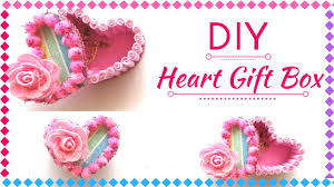 Decorating Boxes With Paper DIY Heart Gift Box for Valentine's Day New Gift Decoration Ideas 81