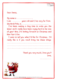 writing a letter to santa ks2
