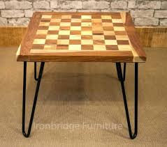 chess board coffee table chess coffee table solid wood chess board coffee table with hair pin chess board coffee table