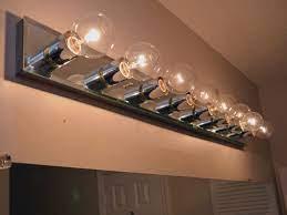 8 Bulb Rustic Barn Wood Bathroom Vanity Light Bar Home Kitchen Kolenik Lighting