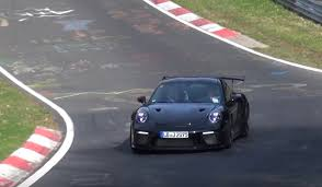 2018 porsche 911 gt3 rs. plain porsche 2018 porsche 911 gt3 rs spotted to be pdk only video intended porsche gt3 rs