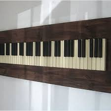 on grand piano wall art with hand crafted repurposed piano key wall art by pianobox custommade