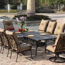 patio dining: darlee santa anita  person patio dining set antique bronze