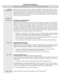 Sample Resume For Financial Controller Http Www Resumecareer