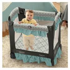 graco travel lite crib with ses