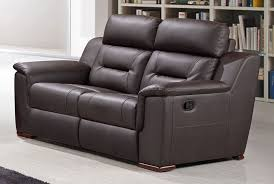modern sofa becky modern leather recliner love seat to