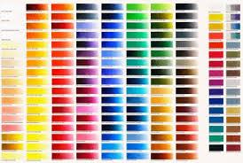 Oil Paint Colour Chart Colour Charts Old Holland Classic Colours