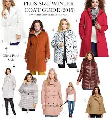 plus size winter coat