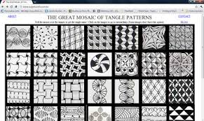 Tangle Patterns Amazing Tangle Brasil The Great Mosaic Of Tangle Patterns