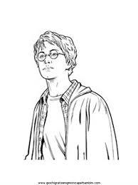 Portrait Harry Potter Disegni Da Colorare Per Bambini