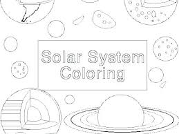 Free Solar System Coloring Pages Showideeinfo
