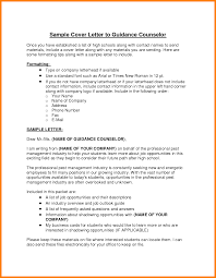 16 School Counseling Cover Letter Bolttor Que Chart