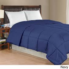 solid color comforter. Contemporary Solid Solid Color Microfiber Down Alternative Comforter Intended R