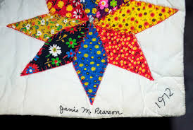 Wonkyworld: Janis Pearson's Quilt & Inscriptions were not uncommon on quilts made throughout American quilt  history, but it is rare to find a quilt signed and dated on the front, ... Adamdwight.com