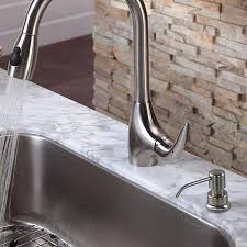 built in pump kitchen sink dish soap dispenser with capacity about ...