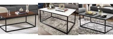 42 mixed material coffee table free 109 99 reg 259 00