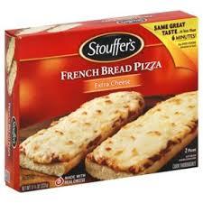 french bread pizza stouffer s. Wonderful Stouffer Stoufferu0027s French Bread Pizza Extra Cheese U2011 Shop   Inside Stouffer S U