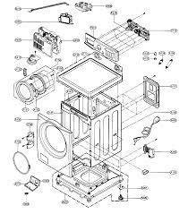 lg washer diagram trusted wiring diagram online lg elite washer diagram data wiring diagram blog lg washer parts list lg model wm2688hwm residential