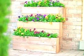 tiered planter box multi fountain tiered planter box 3