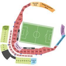 Atlanta United Interactive Seating Chart Nashville Sc Vs Atlanta United Ii Saturday June 30th At 19