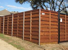 horizontal wood fence with metal posts. Wonderful Horizontal Horizontal Wood Fences And Horizontal Wood Fence With Metal Posts H