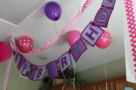 home decor cool birthday party decorations at home decor idea