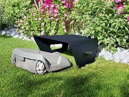 mowhouse robot lawn mower garage