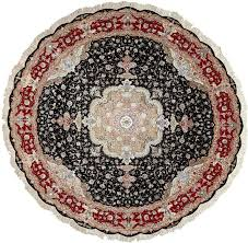 round persian rugs nonsensical vintage tabriz rug for at 1stdibs interior design 1