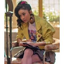 Our romantic comedy heroine has a good heart. X Men Apocalypse Jubilee Lana Condor Yellow Jacket X Men Apocalypse X Men Men