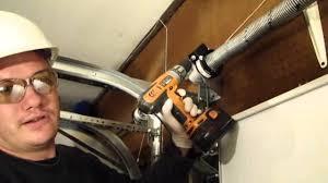 how to adjust garage door springsInstalling A Garage Door Part 4 Tensioning the EZ Set Torsion