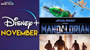 what s coming to disney in november
