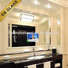 tv behind a 2 way mirror eb glass tv behind a 2 way mirror tv bathroom mirror advertising mirror on alibaba com