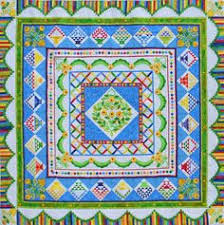 Roseville Quilters Guild Show 2017 | Quilt Skipper: Jenny K Lyon ... & An original quilt designed by Houston quilter, designer, author, Sue Garman  Pieced by Adamdwight.com