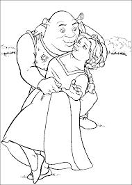 Disegno Shrek Numero 4 Da Stampare E Colorare