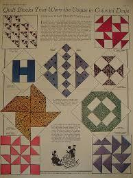 Antique Quilt Block Patterns