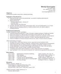 sample resumes for administrative positions Administrative Desktop Publishing  Resume Sample - http .