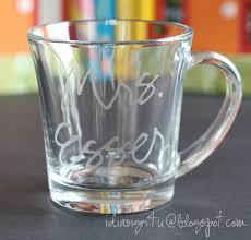diy glass etched mugs