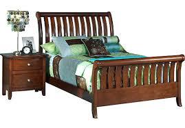 bed design furniture. Bedroom Design Santa Cruz Furniture Cherry 3 Full Sleigh Bed Beds Dark Wood Ca F