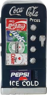 Vending Machine Money Unique OddBits Coke Vending Machine Money Box Blue Toys Baby