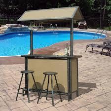 bar stools home depot. Trend Outdoor Bar Home Depot Sunjoy Fiji 3 Piece Patio Set L DN615SST The Stools E
