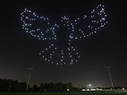 Sky Light Show Disney And Intel Are Launching A Drone Light Show At Disney