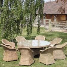 round outdoor dining sets. Pacific 8 Seat Round Outdoor Dining Set Sets