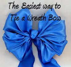 Wreath using this tying method.