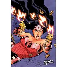 wonder woman comic wall art
