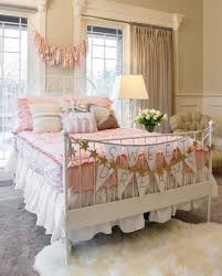 View in gallery Modern shabby chic style brings relaxed elegance to the  kids' room [Design: Beddy's