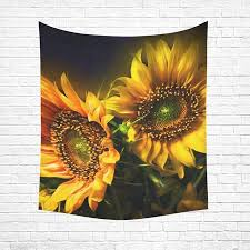 Image Themed Cadecor Sunflower Home Decor Tapestry Wall Art Wall Tapestry 60x80 Inches Walmartcom Ebay Cadecor Sunflower Home Decor Tapestry Wall Art Wall Tapestry 60x80