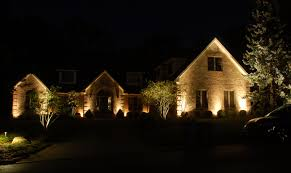 outdoor home lighting ideas. Spot Light Example Landscape Lighting Up Outdoor Home Ideas