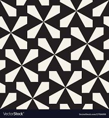 Lattice Pattern Extraordinary Seamless Black And White Cross Lattice Pattern Vector Image